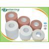 Tensoplast Elastic Adhesive Bandage , Wrist Protection Tape Brick Red / White Colour for sale
