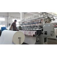 Cheap 2.4 Meters Automatic Quilting Machine With Thread Break Detectors for sale