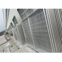 Best Custom Chain Link Fence Panels , Galvanized Temporary Fencing Anti Aging wholesale