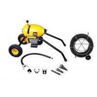 Best Hongli S200 Electric Sectional Cable Drain Cleaning Machine With Wheels wholesale