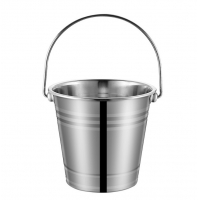 China 306 Stainless Steel Wine Container Top Handle Beer Ice Bucket for sale