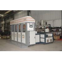 Static slide type PVC/Tpr Outsole Injection Moulding Machine 4 stations 2 injectors for sale