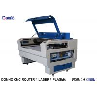 China Movable CO2 Laser Engraving Machine , Laser Wood Cutting Machine Water Cooling on sale