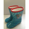 Pretty Lightweight Flexible Snowproof Girls Rain Boots Size 3 for sale