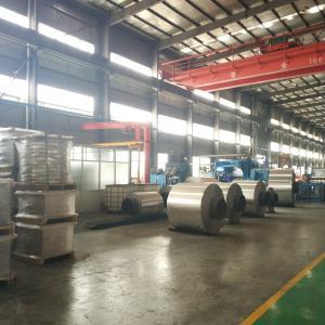 Best Mill Finish Industrial Aluminium Foil Strip , Aluminium Roll Sheet Customized Thickness wholesale