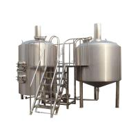 Buy cheap 8BBL 2 Vessel Brewhouse Turn Key Beer Brewing Equipment Tri - Clamp Connection from wholesalers