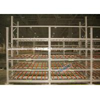 Quality Clear Visibility Pallet Carton Flow Rack SKUs Rotate Automatically For Logistic Distribution Centers wholesale