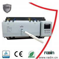 Cheap 200 Amp Manual Transfer Switch 100A To 1250A With Auto Recovery Hotels 60Hz for sale