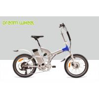 China 350 Watt Lightweight Electric Folding Bicycles / Foldable Electric Bikes 36V 15A Controller on sale