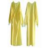 Best EO Sterile Non Woven Disposable Patient Gowns Minimum Cross Infection Yellow wholesale