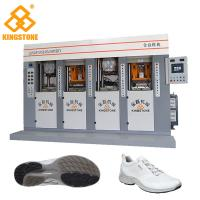 TPU TR PVC TPR Shoe Sole Making Machine for sport shoes 70-100 Pairs Per Hour And 4 Stations for sale