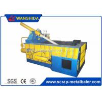 Best Copper Wires Scrap Metal Baler Baling Equipment 250 × 250mm Bale Size wholesale