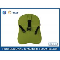 Quality Comfortable Relieving Back Pain Car Memory Foam Neck Pillow , Car Driver Pillow wholesale