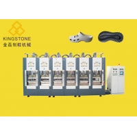 One Color EVA Foamging Shoe / Slippers Sandals / Sole Injection Molding Machine for sale