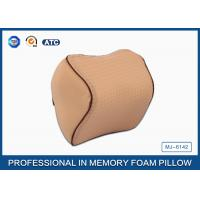 Quality Orthopedic Design Memory Foam Travel Neck Rest Pillow with Adjustable Strap wholesale