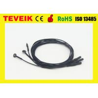 Best Flexible soft EEG electrode cable with silver chloride plated copper ,emg electrodes wholesale