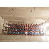 Quality 1000 Depth Shuttle Metal Pallet Racks Remote Controlled For Frozen Meat / Beverage Storage wholesale