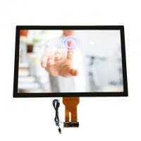 Best 32 Inch Capacitive Multi Touch Screen Display Transparent Glass Touch Panel Windows Systems wholesale
