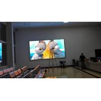 Best 1/16 Scan P4 Indoor Led Display , Led Theater Screen 8kg Per Square Weight wholesale