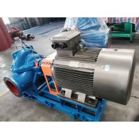 Buy cheap Electric Horizontal Split Case Double Suction Centrifugal Pump Energy Efficient from wholesalers