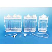 Portable Vacuum Drainage System Wound Care Double chamber 2500ml Fr16 Fr18 for sale