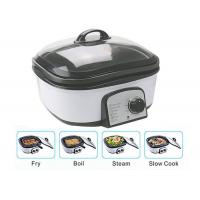 Best Slow Small Electric Multi Cooker Glass Cover With Stainless Steel Steamer Rack wholesale