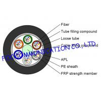 Buy cheap GYFTA Optical Fiber Cable With Non metal Central Strength Member and Aluminium from wholesalers