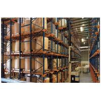 China Adjustable Drive In Pallet Racking System , Pallet Rack Storage Systems For Cold Storage on sale