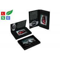 Best 4.3 Inch LCD Advertising Display Video Screen Brochure With A4 A5 Full Color Printed Card wholesale