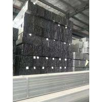 Best Galvanized Thin Wall Square Metal Tubing , Flat End Square Hollow Section wholesale