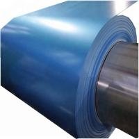 Best Blue Color Coated Steel Coil Hot Dipped Galvanized 0.25mm - 2.5mm Thickness wholesale