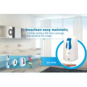 Best White 35 Oz Automatic Hand Soap Dispenser , Skin Care Refillable Foaming Soap Dispenser wholesale