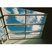 Best Curtain Wall Glass Flat Laminated Safety Glass 5mm Toughened Glass wholesale