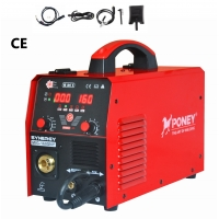 China 3 In One Synergic Wire Feed Mig Welder 160 Amp Any Color Available for sale