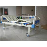 Best Spray Steel 2 Cranks Manual Hospital Bed With ABS Headboard And Footboard wholesale