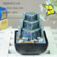 Best Small Artificial Hill Polyresin Water Fountain For Indoor Desk Decoration wholesale