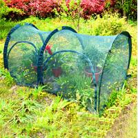 Quality 200*100*100cm Easy Shade Cloth Garden , Grow Tunnel Shade Cover For Garden 14KG 210D oxford PA coated, UV50+, 90gsm poly wholesale