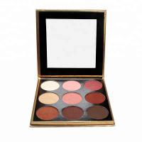 Buy cheap High Pigment No Labels Face Makeup Products 9 Colors Eyeshadow Palette MSDS from wholesalers