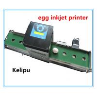 Cheap Expiry Date Egg Stamping Equipment , Electronic Inkjet Coding Machine For Eggs for sale
