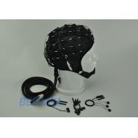 High Precision EEG Electrode Cap With Different Sensor Electrodes 16 ~ 128 Channel