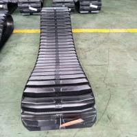 Buy cheap Farm Machine Combine Harvester Rubber Track Conventional / Interchangeable Type from wholesalers