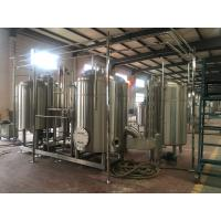 10Bbl Brewhouse Craft Beer Brewing Equipment Direct Fire Heating Stainless Steel