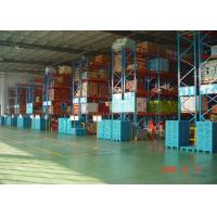 Cheap High Capacity Storage Pallet Warehouse Racking / Selective Pallet Racking System for sale
