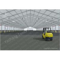 Quality Aluminium Frame Marquee Large Storage Tents Flame Retardant 40M x 140M wholesale