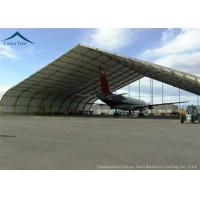 Buy cheap Fabric Covered Buildings Durable Aircraft Hangar With Heavy Duty Materials from wholesalers