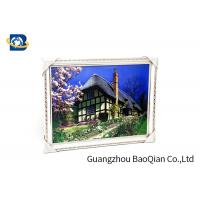 China Beautiful Landscape 3D Lenticular Images , Stereograph Lenticular 3D Printing for sale