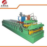China Intelligent GI Steel Cold Roll Forming Machines With 0 - 12m / Min Forming Speed on sale