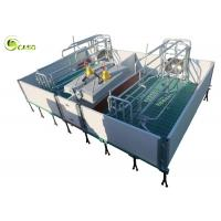 Best Galvanized Adjustable Floding Pig Farrowing Crate Plastic Hollow Panel Pig Stall wholesale