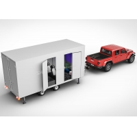 Buy cheap Amusement Park Mobile Cinema Truck With Electric Leather Motion Seats from wholesalers