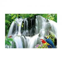 Best Large Size PET 3D Lenticular Printing Poster Of Waterfall Scenery Theme wholesale